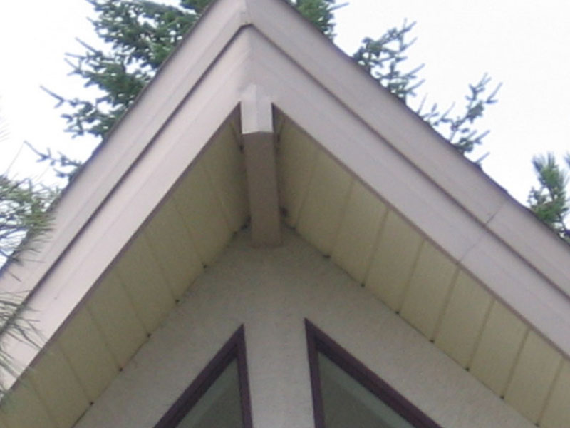 Gallery siding installation