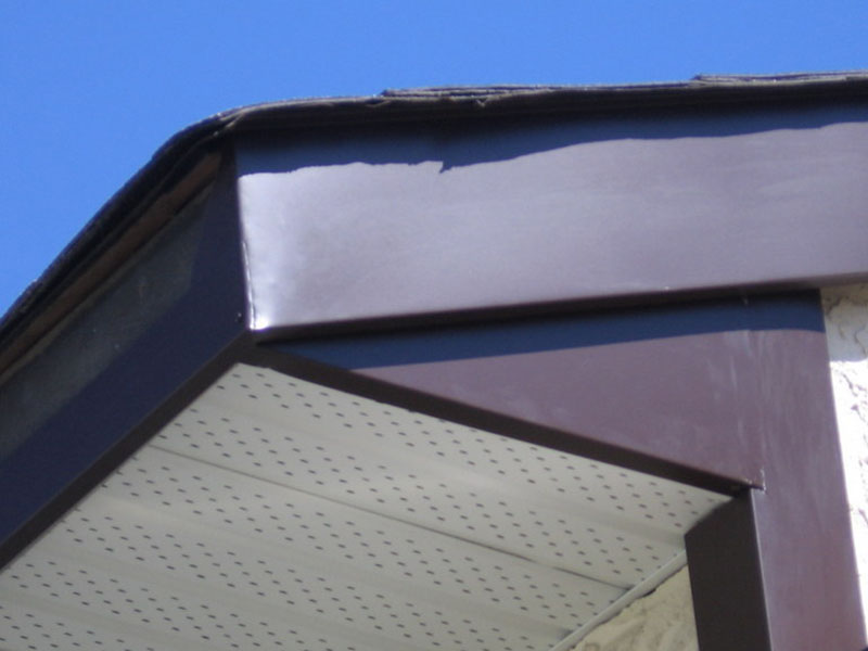 pics of roofing, gutter and siding installation